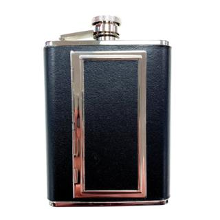 FLASK / CIGT CASE LEATHER 6oz